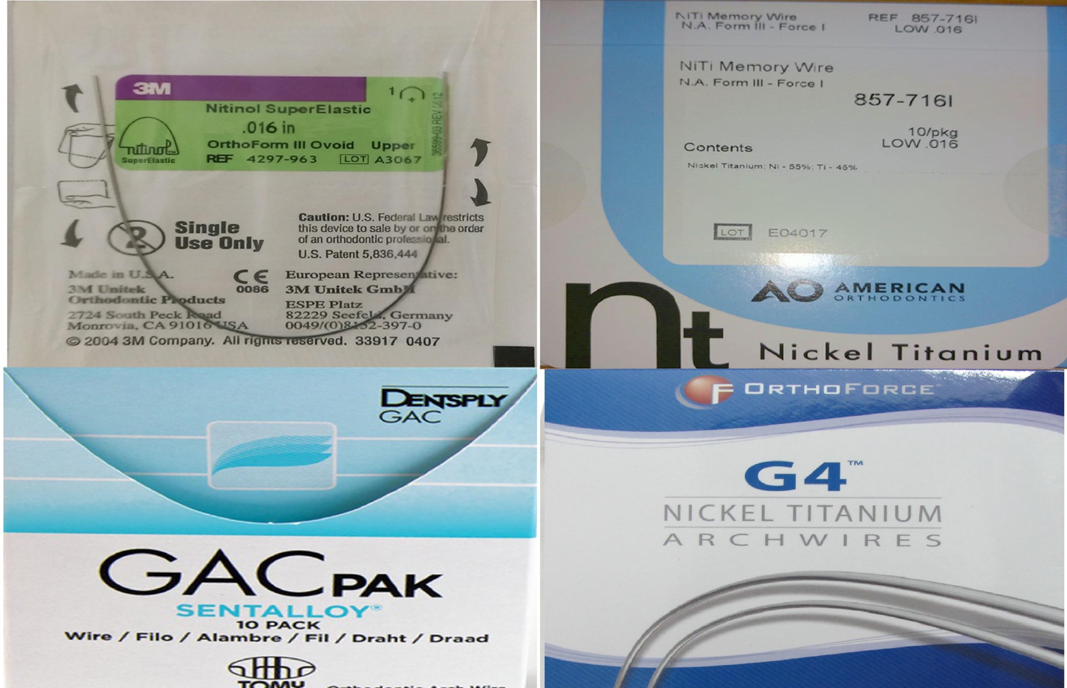 JCDR - Nitinol, Orthodontics, Sterilization